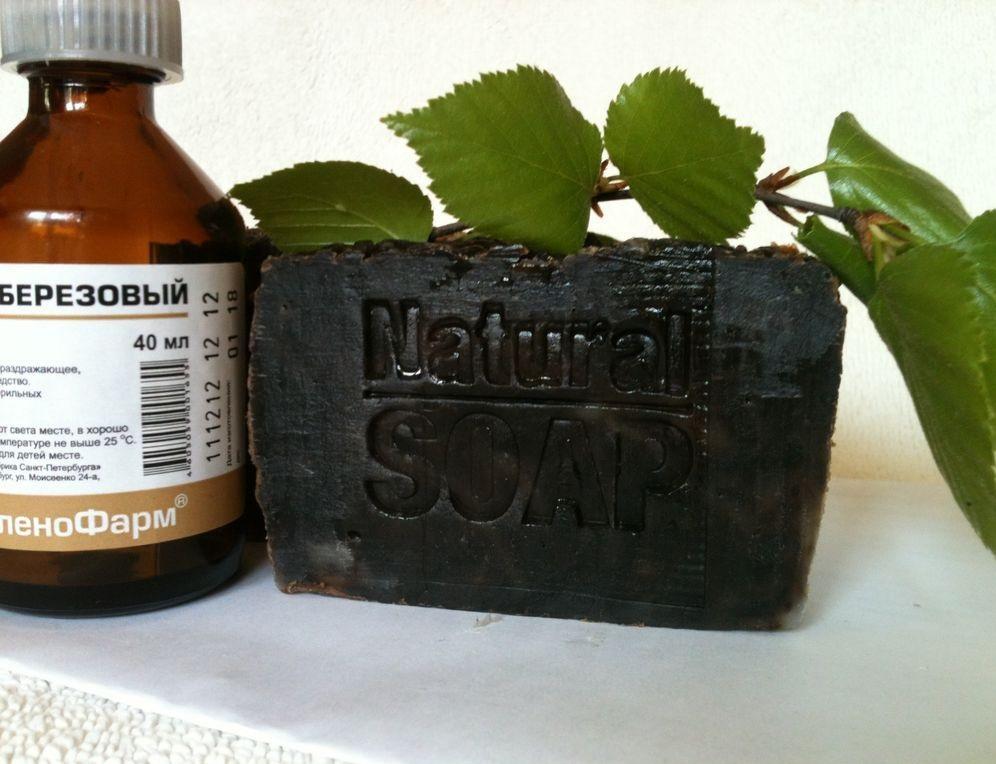 Дегтярный шампунь и мыло от перхоти: способ применения