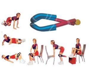 Упражнения для накачивания мышц ног в домашних условиях