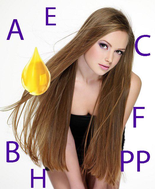 Модель для причесок с длинными волосами