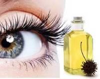 Касторовое и репейное масла для роста ресниц, применяемые в домашних условиях