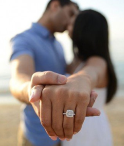 На какой палец одевают помолвочное кольцо?