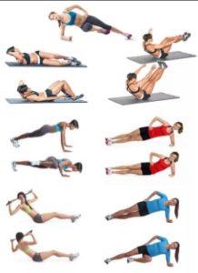 Какие упражнения для тонкой талии и боков самые эффективные