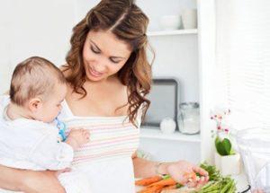 Какой диеты лучше придерживаться кормящей маме
