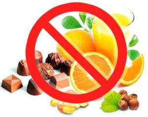 Какие продукты есть нельзя, а какие можно, но с осторожностью?