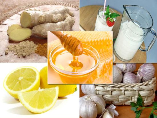 Полезные продукты питания и витамины