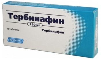 Лучшие таблетки от грибка ног