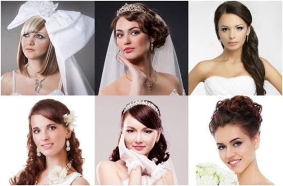 Как правильно подобрать свадебную прическу