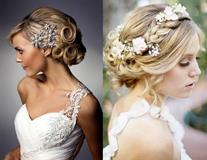 Свадебные прически с короной, диадемой и фатой на короткие, средние и длинные волосы