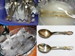 Лучшие рецепты по очистке серебра