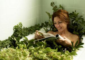 Травы для успокаивающих ванн