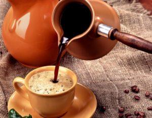 Правила приготовления напитка в турке