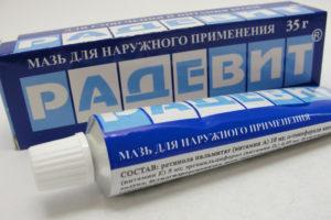 Лечение кремами и мазями