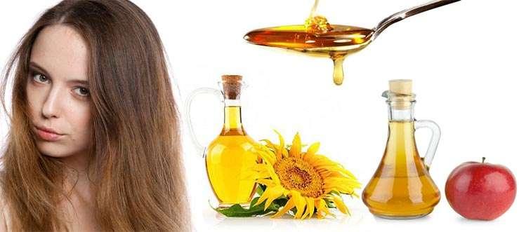 маска для волос мед лимон