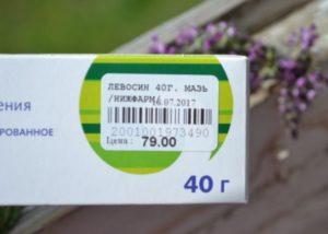 цена мази Левосин