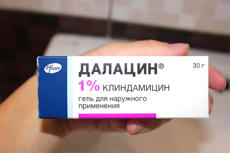 гель Далацин