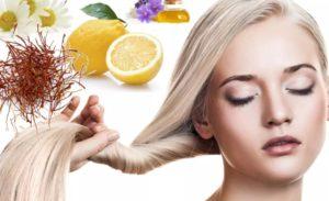 обесцвечивание волос в домашних условиях