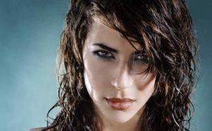 как самостоятельно сделать эффект мокрых волос