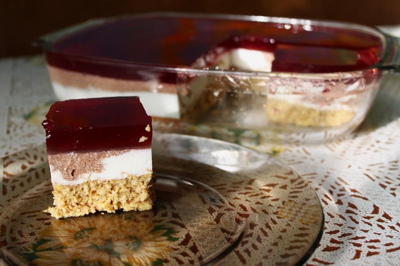 Торт «Рубиновый агат»