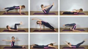 Домашний комплекс упражнений пилатес для похудения