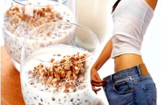 Диета кефир и гречка для похудения — рецепты и отзывы