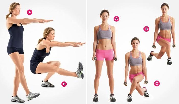Красивые ноги и ягодицы в домашних условиях - лучшие упражнения для девушек