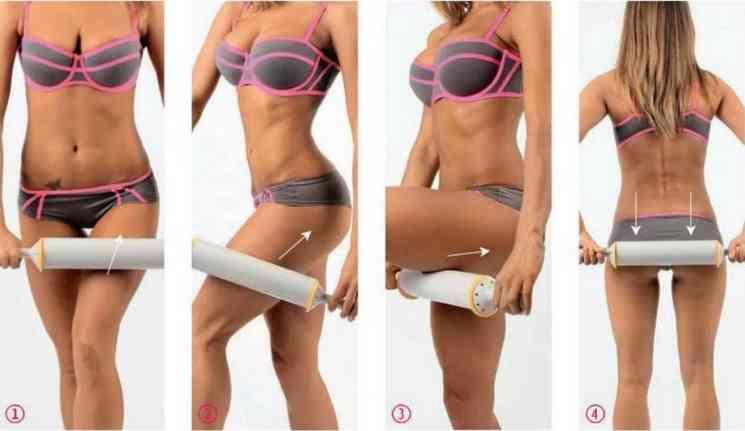 Как делать массаж скалкой от целлюлита?