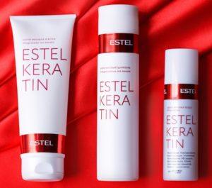 Кератиновый шампунь Estel