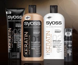 Шампунь SYOSS (Сьес) KERATIN Hair Perfection