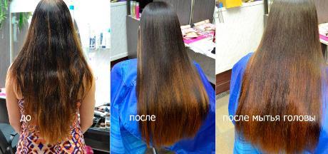 Плюсы и минусы кератинового выпрямления волос: вредно ли оно?