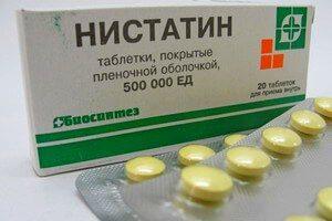 Таблетки Нистатин от перхоти: действие и отзывы