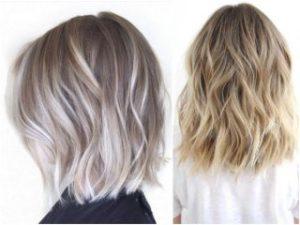 Как выполняется шатуш на светлые волосы?