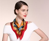 Как красиво разными способами завязать платок на шее и голове