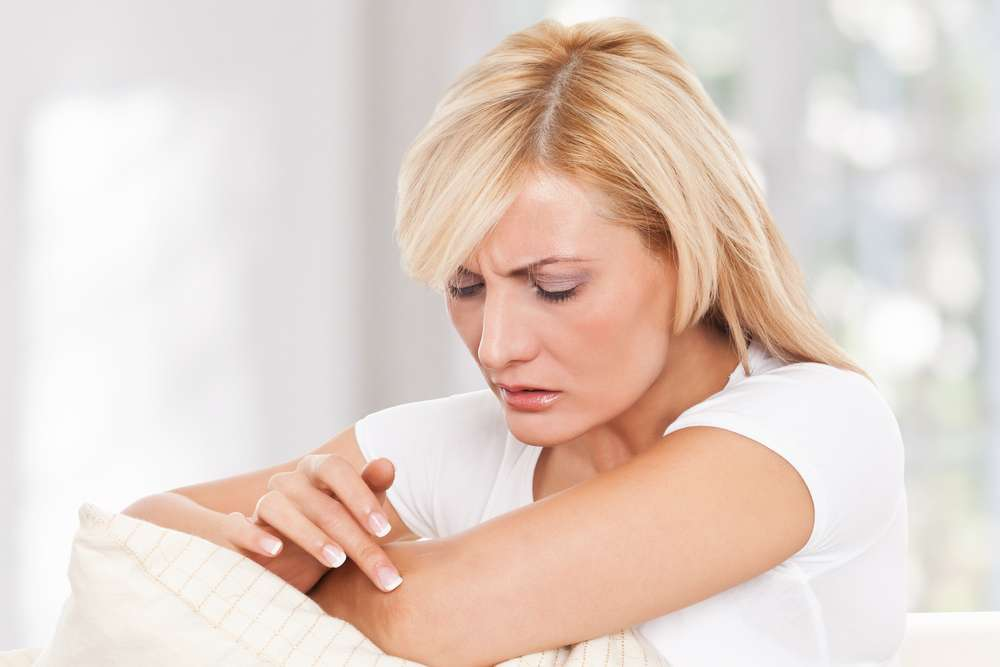 шершавые локти причина и лечение