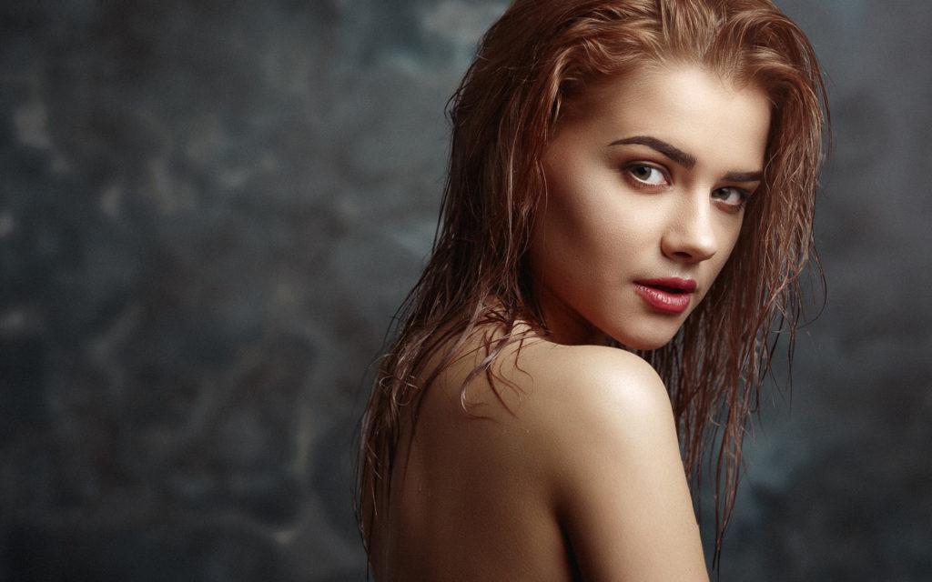 прически эффект мокрых волос фото