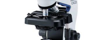 OLYMPUS CX23 – надежный лидер, среди недорогих биологических микроскопов