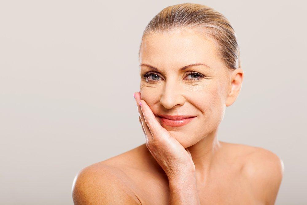 Проблемная кожа у всех женщин старше 40