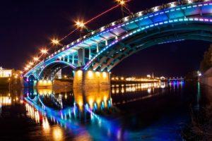 Освещение мостов: основные функции и виды