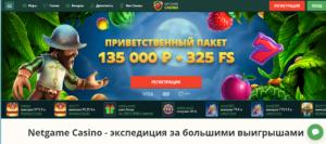 Онлайн-казино NetGame