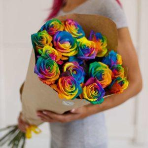 Как создаются необычные розы