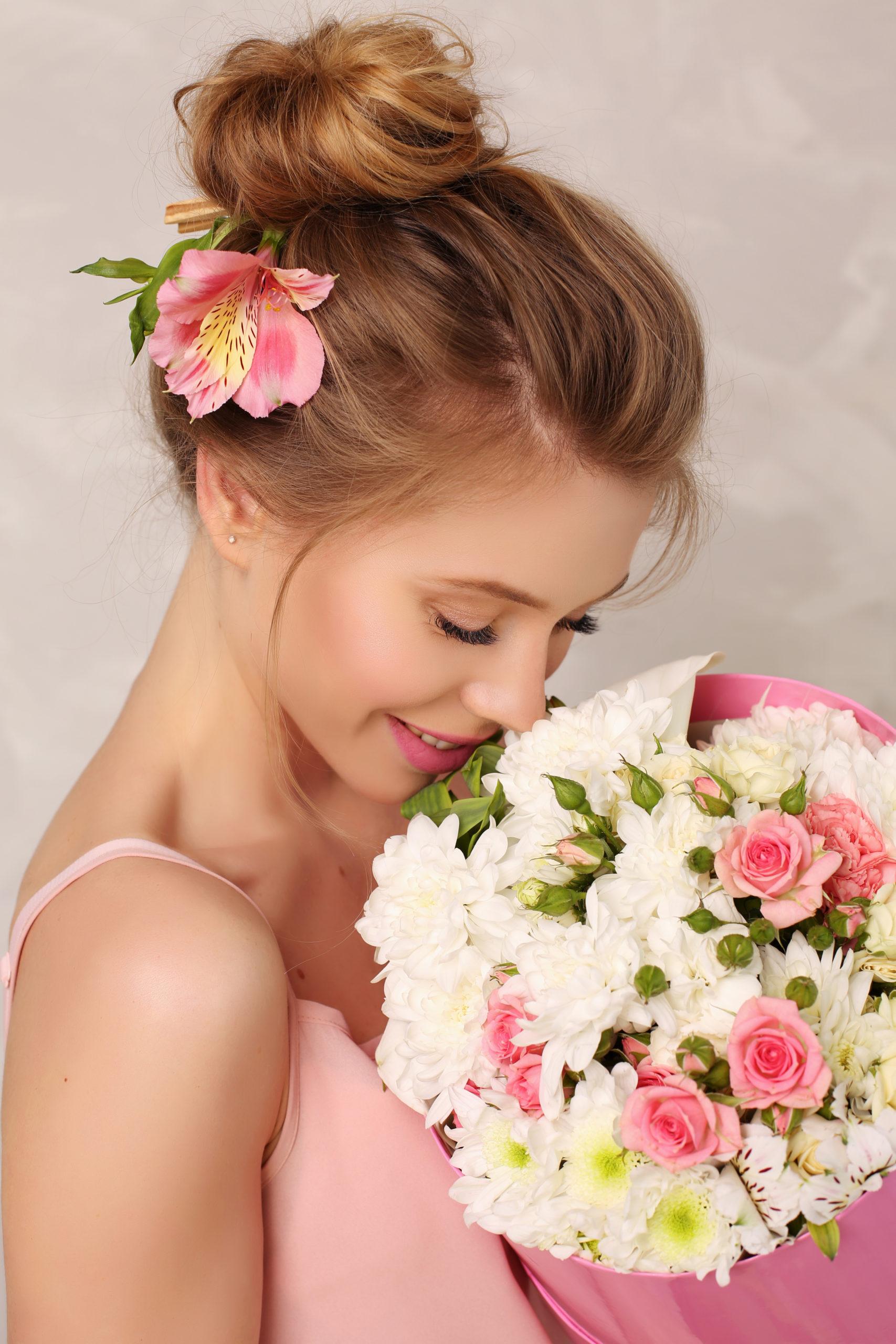 Цветы на заказ в Москве для вас в магазине Flor2u